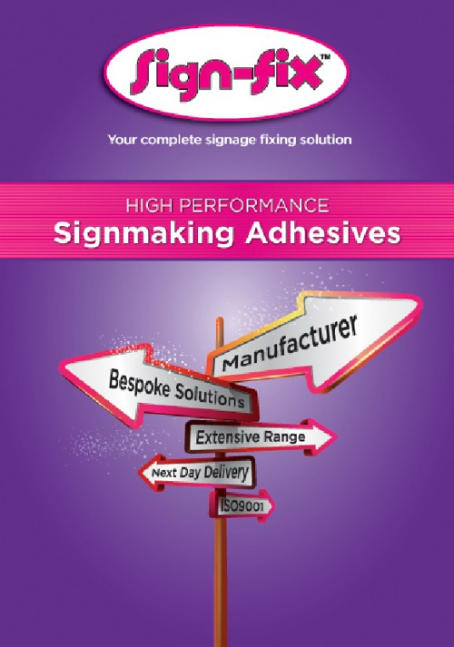 SignFix Adhesives Full