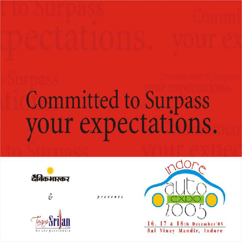 Auto Expo by Srijan Advertising