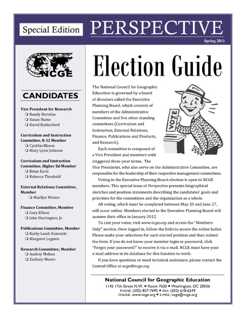 2011 NCGE Election Guide