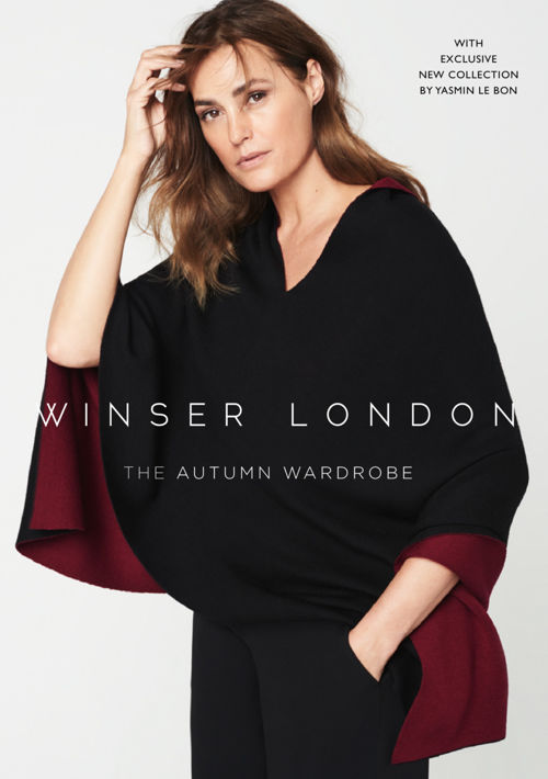 YLB YASMIN LE BON COLLECTION FOR WINSER LONDON