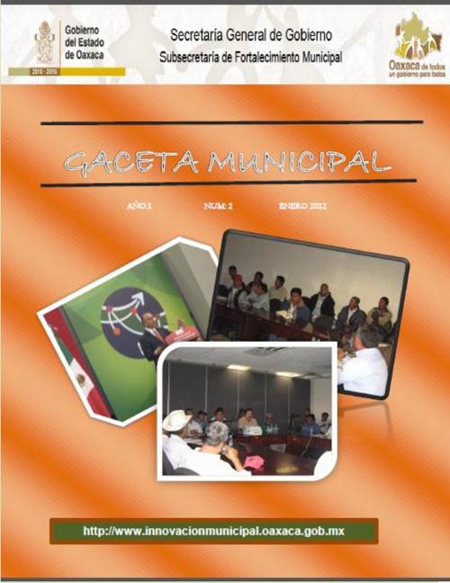 Innovación Municipal  - Gaceta No.2  (Parte 1)