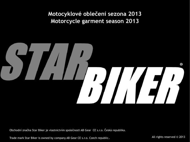 STAR BIKER katalog 2013