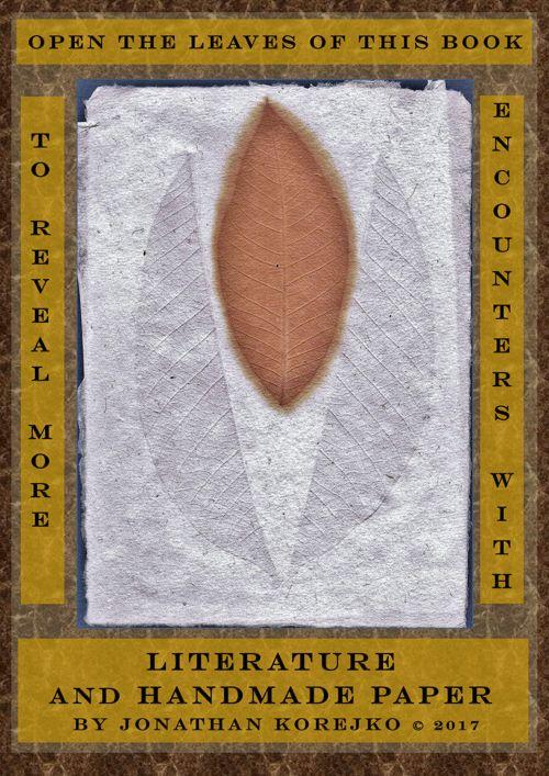 Literature and Handmade Paper