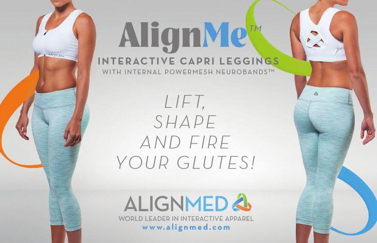 AlignMe Capri Leggings Fit Guide