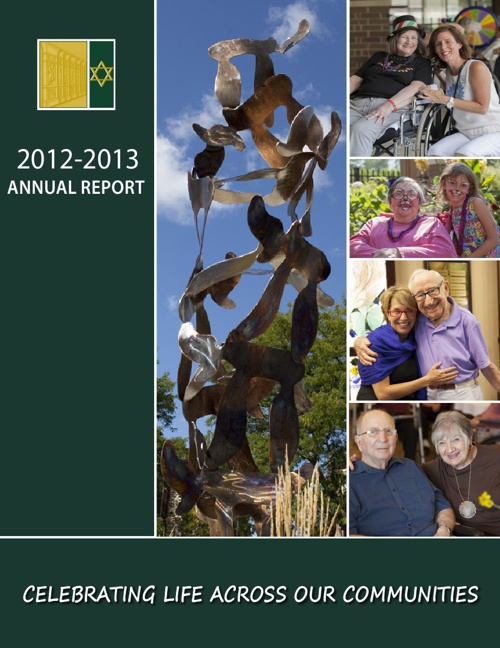 Jewish Home and Care Center Foundation - Annual Report 2013