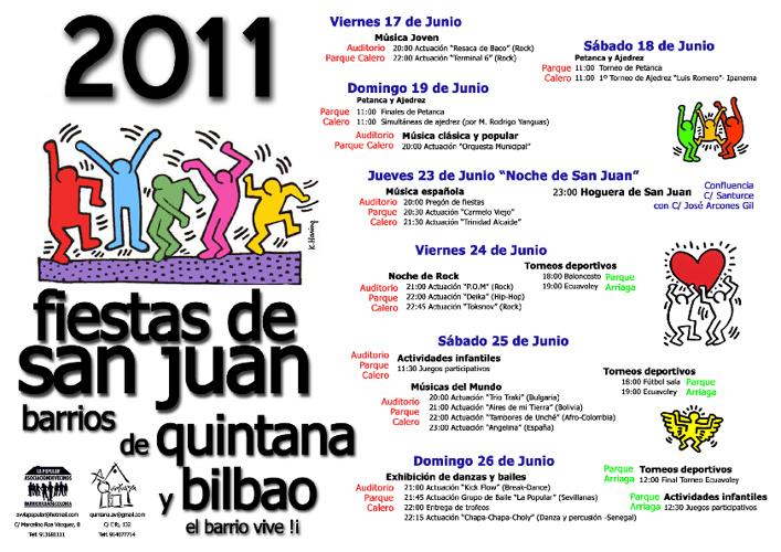 Cartel Fiestas San Juan 2011