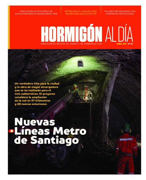 Revista Hormigón al Día - Edición Nº 60