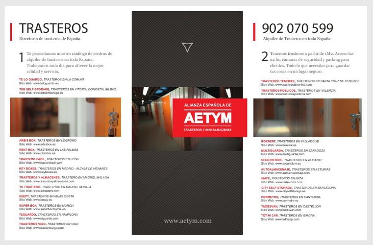 Alquiler de Trasteros - AETYM