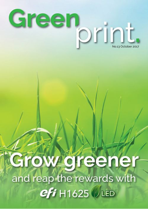GreenPrint #13 – October 2017