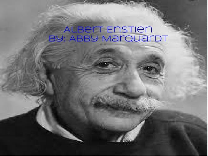 P. 3 Marquardt Einstein