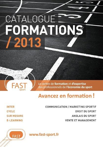 Catalogue FAST sport 2013