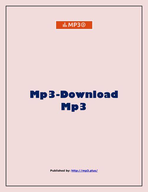 Mp3-Download Mp3