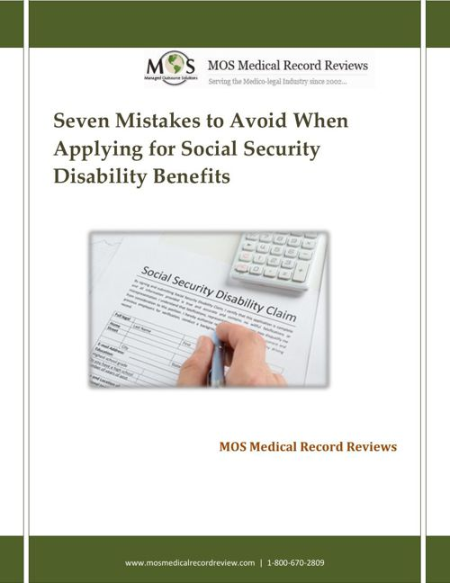 Seven Mistakes to Avoid When Applying for Social Security Disabi