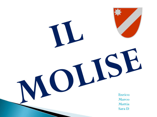 MOLISE -   Enrico, Mattia, Marco, Sara V° A Donatelli  Segrete