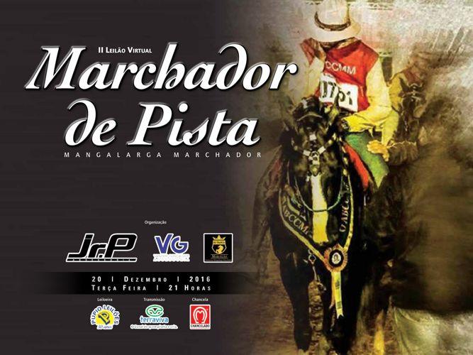 II LEILÃO VIRTUAL MARCHADOR DE PISTA