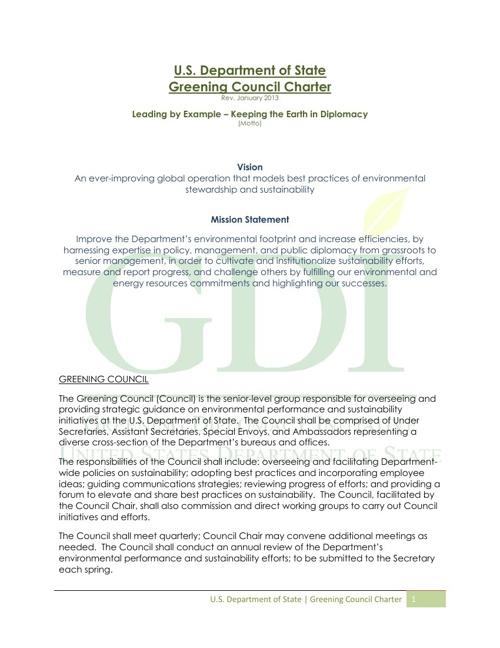 GDI | Planning