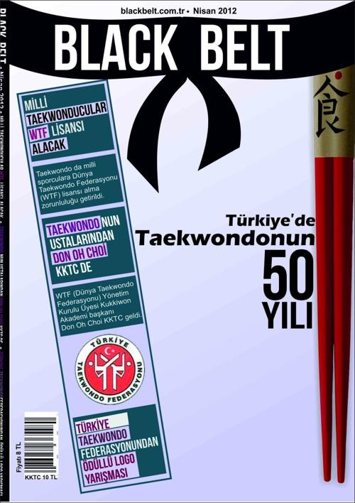 BLACKBELT - (Spor - Taekwondo dergisi tasarımı)