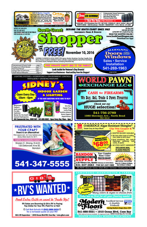 South Coast Shopper e-Edition 11-10-16