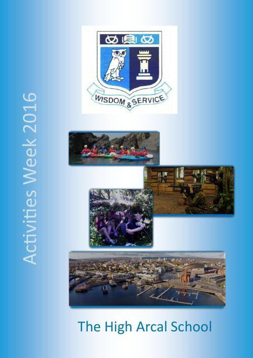 Activities Week brochure  2016 updated 17 09 15 V5