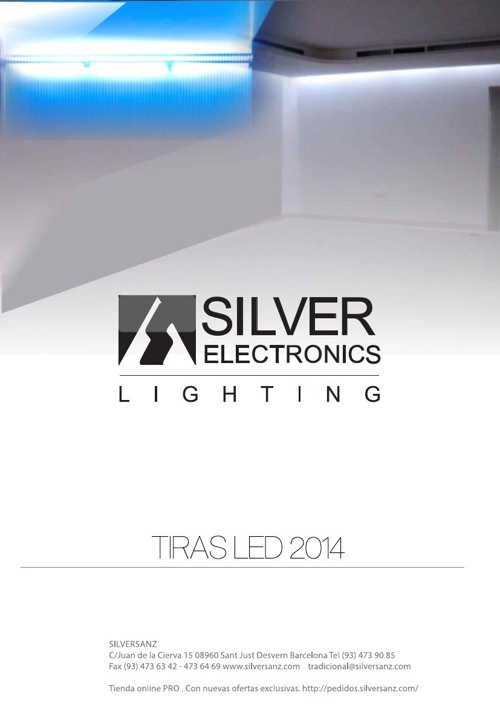 Silver Lighting TIRAS LED 2014