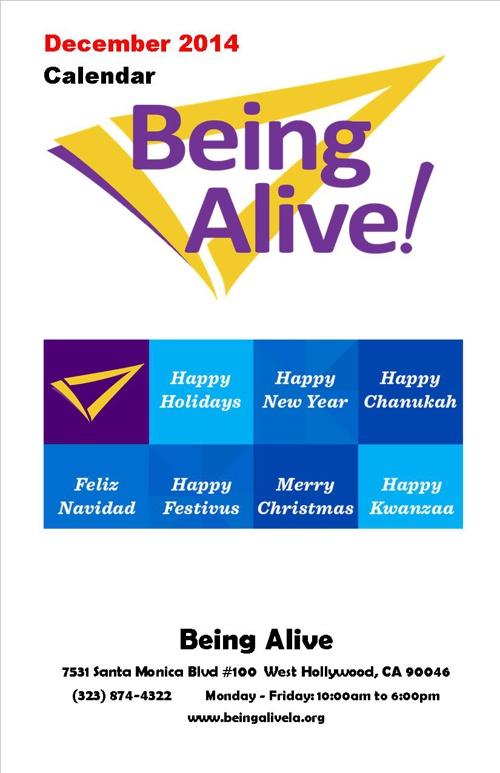 BA Calendar December