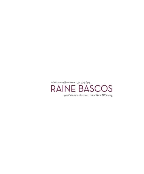 Raine Bascos