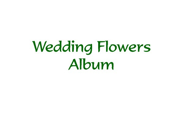 Flower Shed Wedding Album