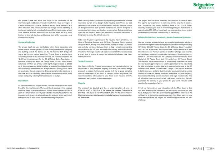 Schneider Proposal Document