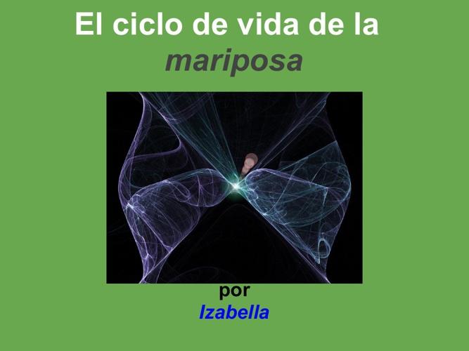 Izabella mariposa