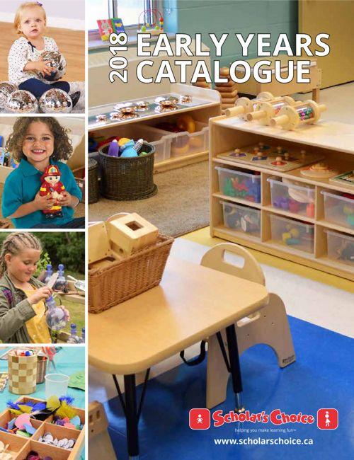 2018 Early Years Scholar's Choice Catalogue