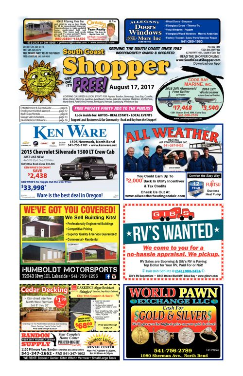 South Coast Shopper e-Edition 8-17-17