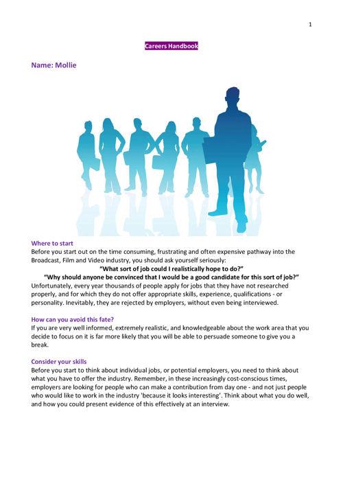 careers booklet pdf