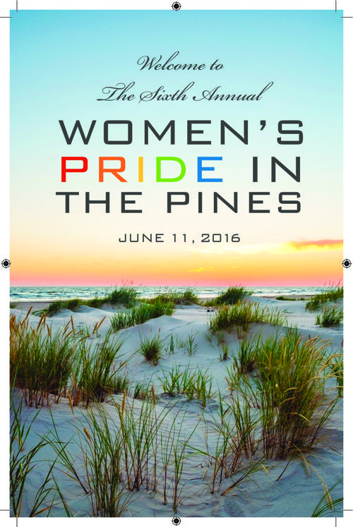 Women's Pride in the Pines Journal 2016