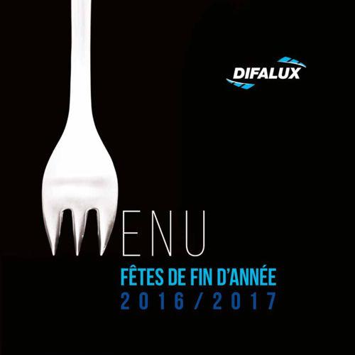Difalux - Fêtes 2016-2017