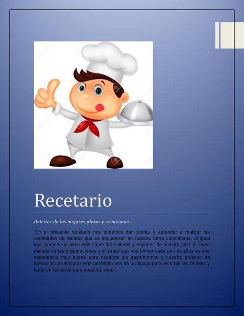 recetarioface