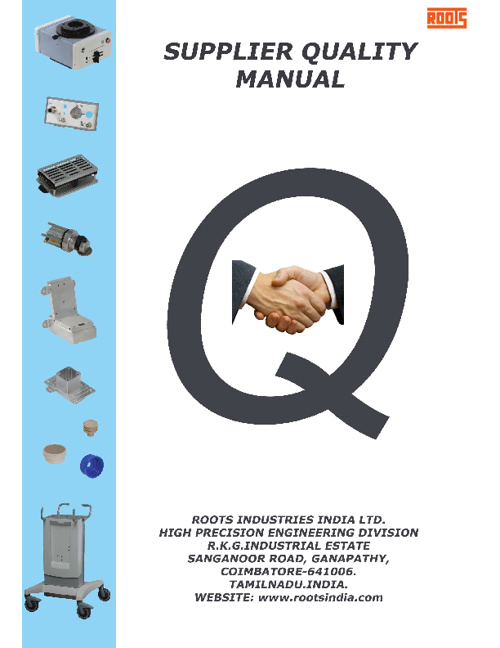 Supplier Quality Manual