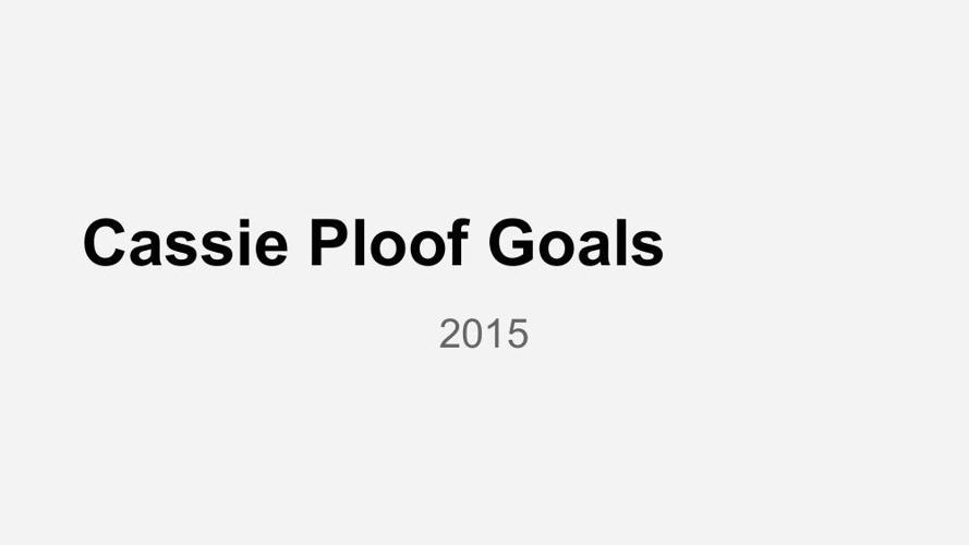 Goal Setting Template