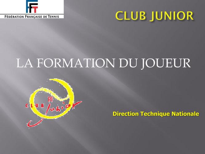Le club junior