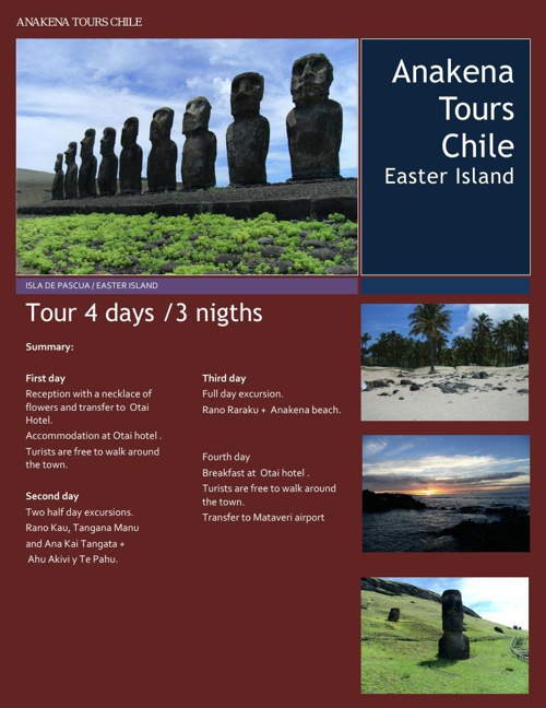 Easter Island 4 days 3 nigths