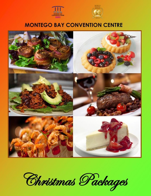 Montego Bay Convention Centre Holiday Menu 2014