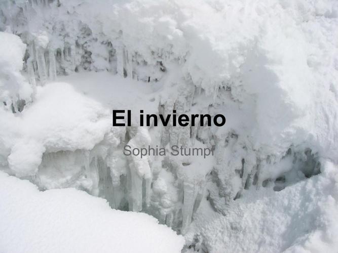 El invierno-Sophia Stumpf