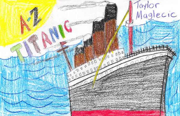 A-Z Titanic by Taylor
