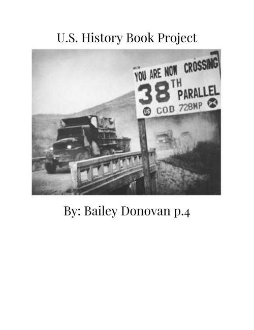 U.S history flipbook