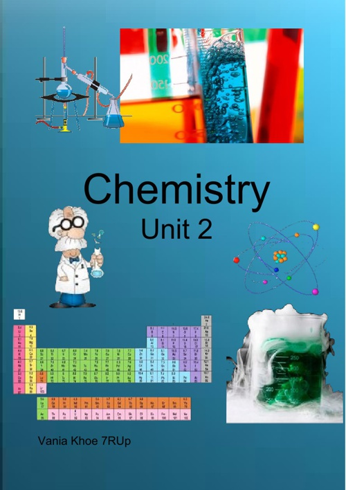 Chemistry Unit 2 By Vania