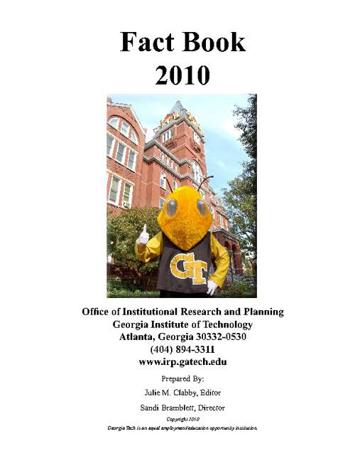 2010 Georgia Tech Fact Book