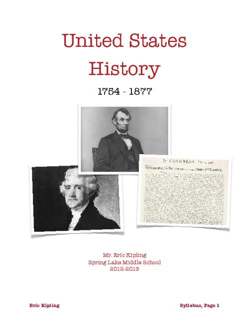 Flipped History Syllabus