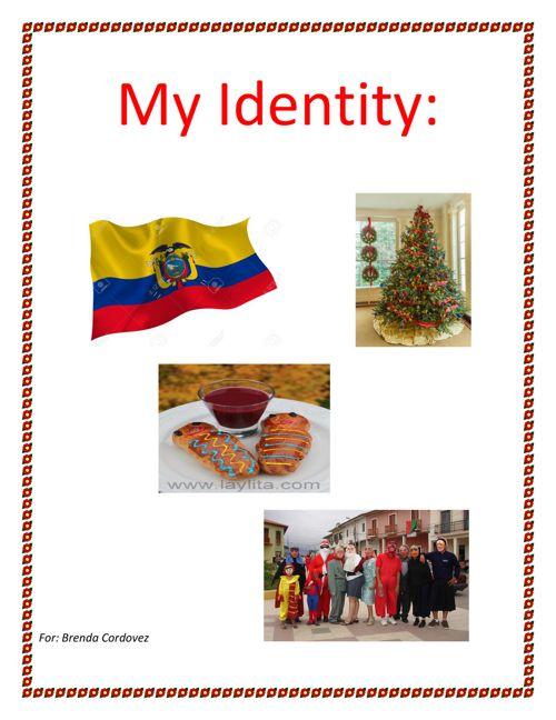 My identity for Brenda Cordovez