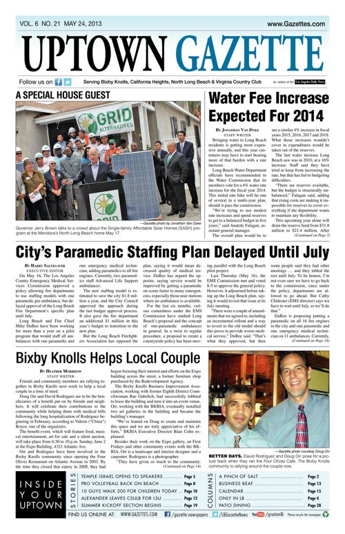 Uptown Gazette  |  May 24, 2013