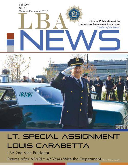 LBA News   October-December 2015