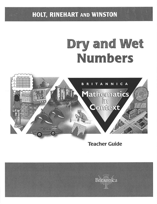 Dry & Wet Numbers